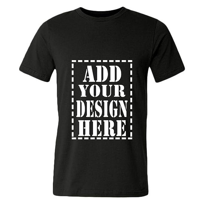 ec4033f3d Amazon.com: JISPO Add Your Design Here Custom 3D Printed T Shirts For Men:  Clothing