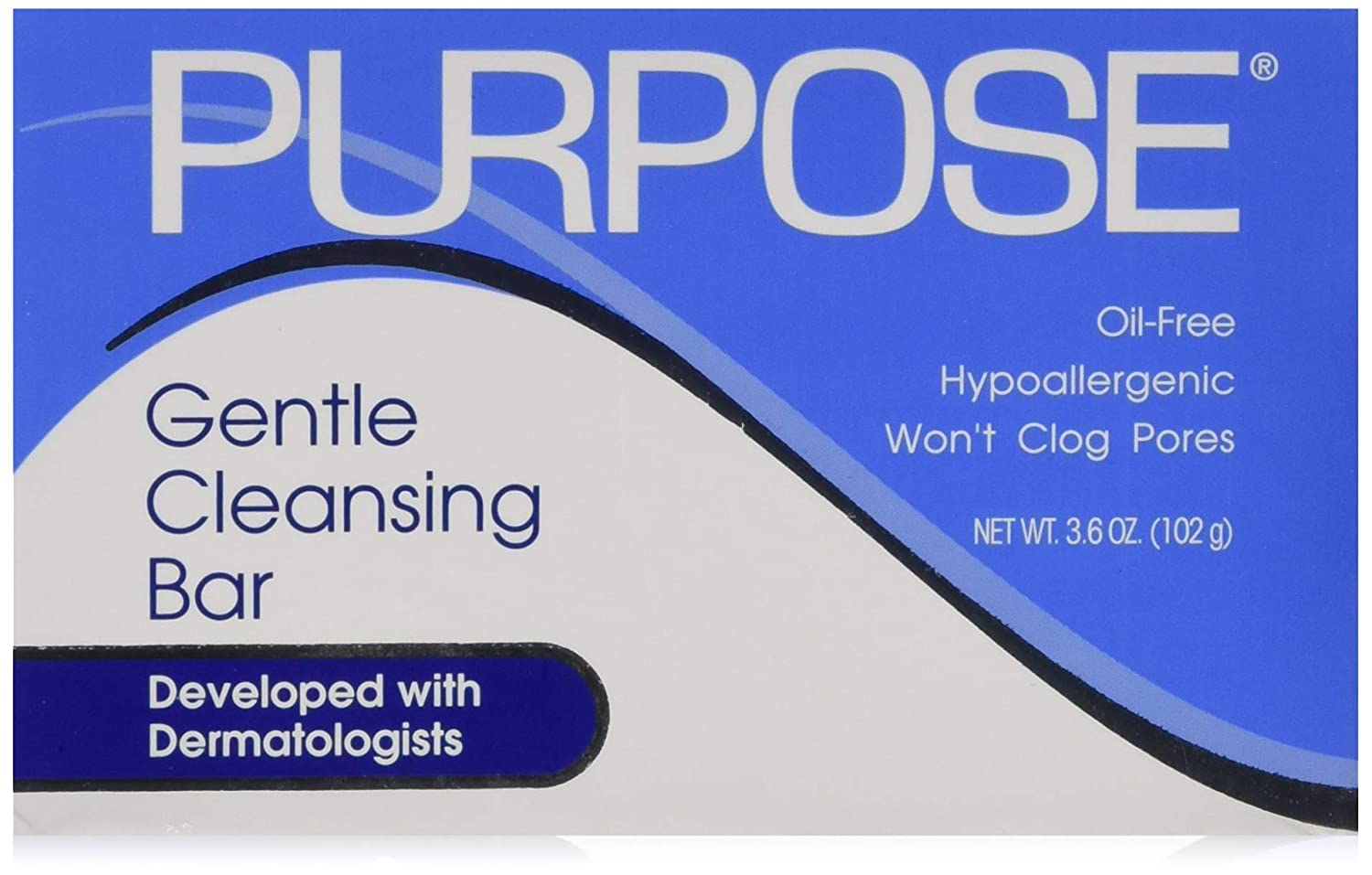 Purpose Gentle Cleansing Bar - 3.6 Oz/Pack, 4 Pack: Beauty