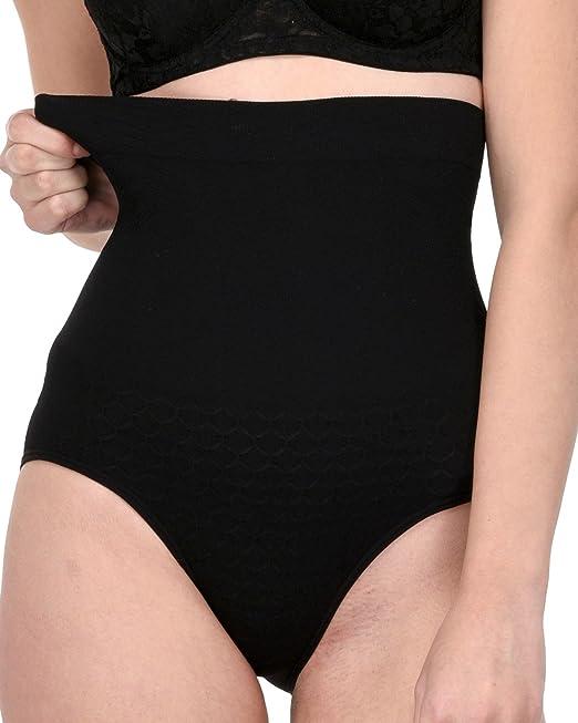 11d9b06f76 Quttos Tummy Tucker Waist Slimmer Women s Shapewear (Black)  Amazon ...