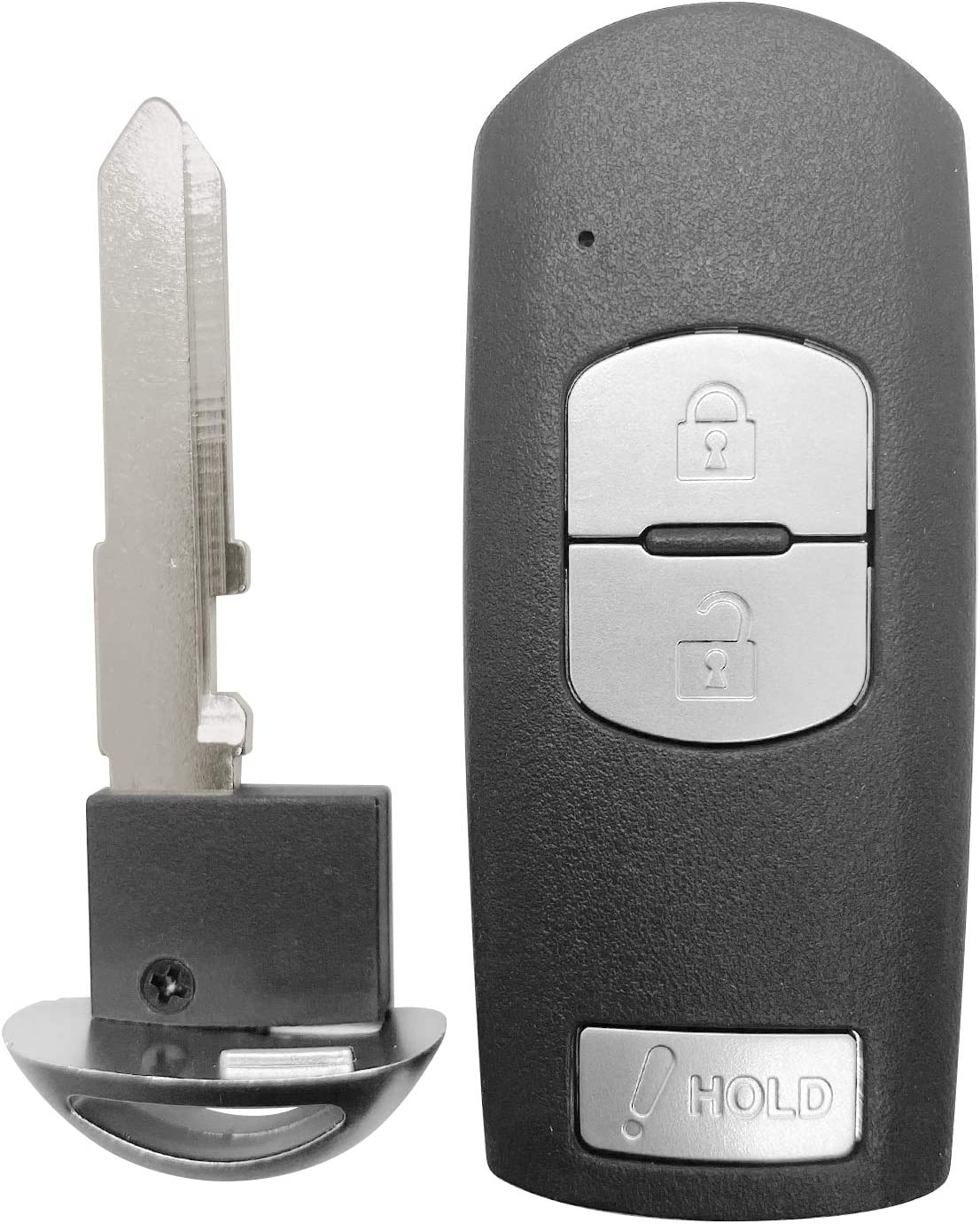 For 2012-2018 Mazda 3 5 CX-3 CX-5 Smart Remote Key Fob 3 Button FCCID:WAZSKE13D01 D02 ;by AUTO KEY MAX SINGLE