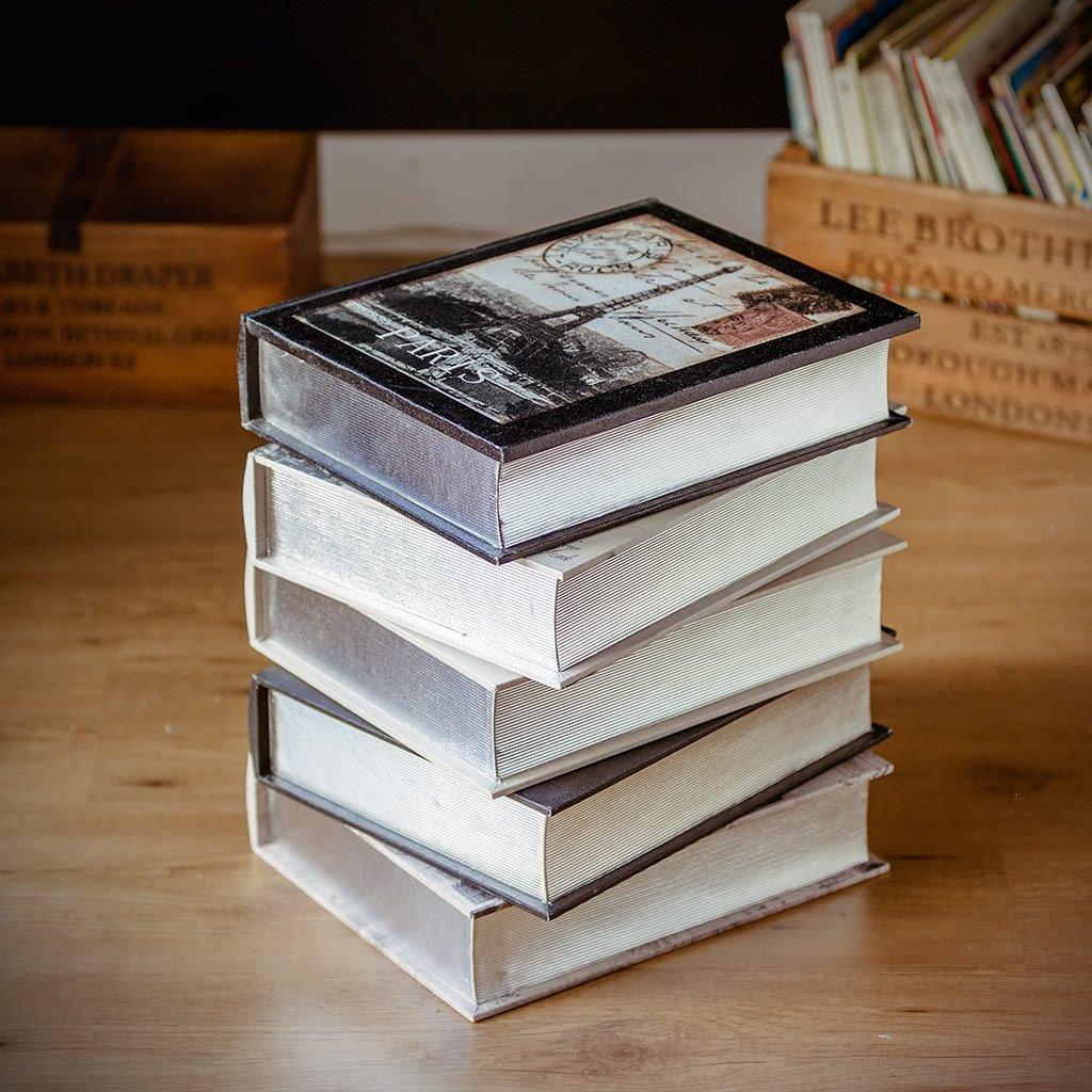 Balvi Libri Da Decorazione City Books Legno Amazonit Casa E Cucina