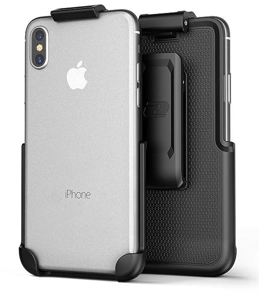 online retailer ec12b 501c9 Encased iPhone Xs Max Belt Clip Holster (ClipMate Series) Case Free Design  Rotating Holster for Apple iPhone Xs Max Phone (Black)