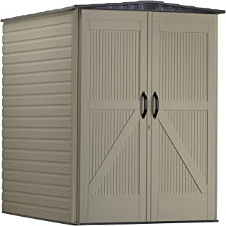 product image for Rubbermaid Roughneck Large Vertical Resin Weather Resistant Outdoor Garden Storage Shed, 5x6 Feet