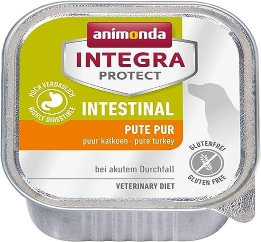 Oferta amazon: animonda Integra Protect Intestinal para perros, comida dietética para perros, comida húmeda para casos de diarrea o vómitos, puro pavo, 11 x 150 g