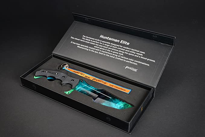 fadecase Huntsman - Gamma Doppler - with Real CSGO Knife Skin Counter Strike Global Offensive: Amazon.es: Hogar