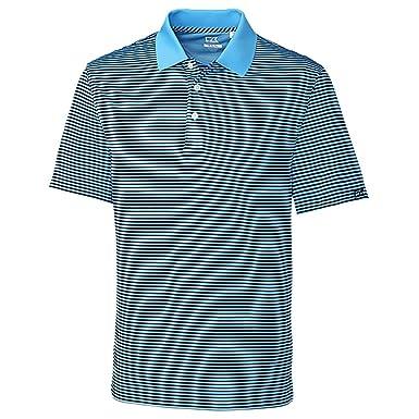 d84861ee Amazon.com: Cutter & Buck Men's Cb Drytec Trevor Stripe Polo Shirt ...