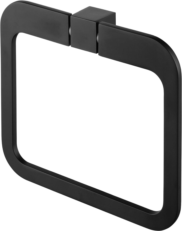 Bisk 02969 Futura Handtuchring 20/x/3/x/17,5/cm Schwarz