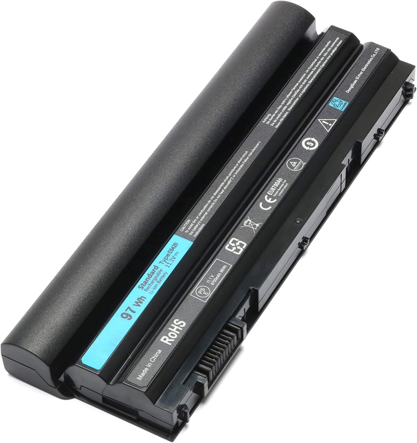E6420 for Suitable Dell Latitude E5520 E6430 E5420 E5430 E5530 E6530 Series Laptop Batteries Compatible with T54FJ T54F3 M5Y0X X57F1 KJ321 NHXVW PRRRF PRV1Y HCJWT 7FJ92 P8TC7 P9TJ0 312-1163 312-1165