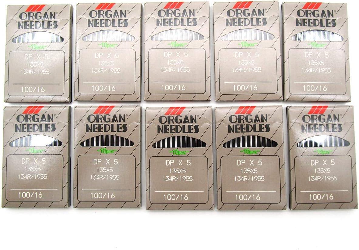 CKPSMS Brand - 100 piezas para Singer 20U agujas Zigzag máquina de coser Organ DPX5 elegir tamaño