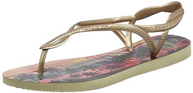 ca2619bf8d86d1 Havaianas Sandals Women Luna Print  Amazon.co.uk  Shoes   Bags