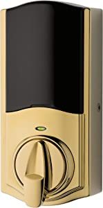 Kwikset 99140-101 Convert Z-Wave Plus Lock with Home Connect, Polished Brass