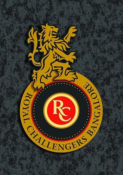 tamatina wall poster royal challengers bangalore logo ipl team