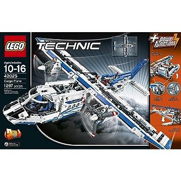 Amazon.com: Lego Technic Cargo Plane (42025): Toys & Games