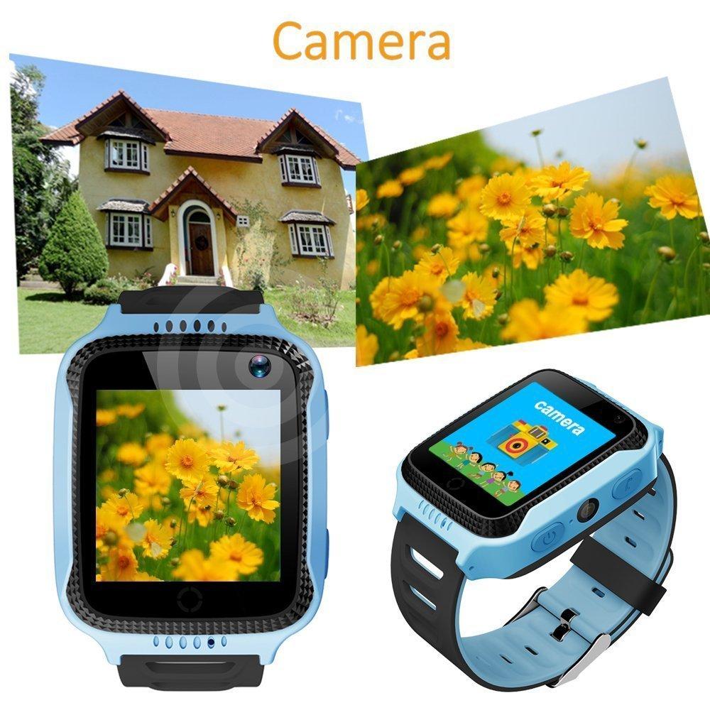 Cámara inteligente reloj niños reloj teléfono celular inteligente muñeca reloj Q528 Kids Smart reloj teléfono con cámara inteligente reloj GPS Tracker ...