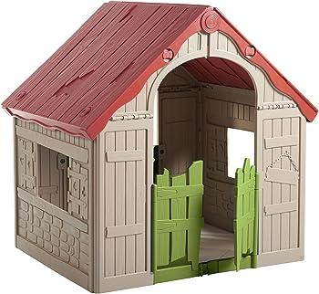 Keter Kids Wonderfold Easy 2-Step Foldable Playhouse