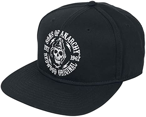 8e055bf0218 Sons of Anarchy Redwood Original Cap Black  Amazon.co.uk  Clothing