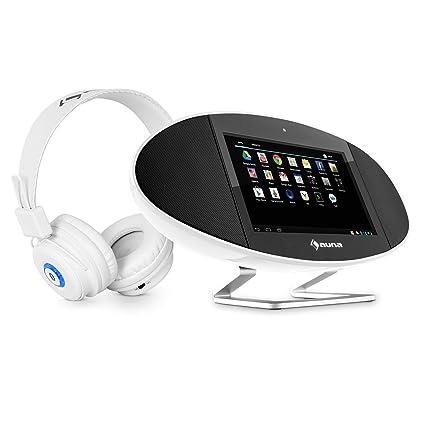 auna 2.0 Equipo Multimedia Mediacenter Auriculares Bluetooth (Centro multimedia portátil, procesador dual core,