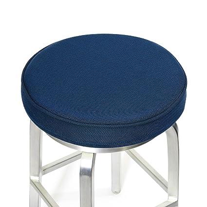 amazon com shinnwa bar stool cushions memory foam bar stool covers