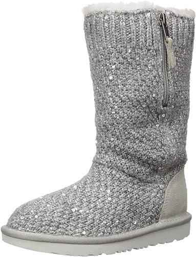 Amazon.com | UGG Kids' Sequin Knit Boot