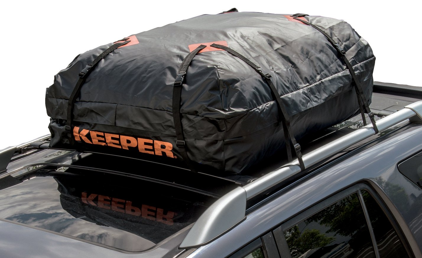 Keeper 07203 1 Waterproof Roof Top Cargo Bag 15 Cubic Feet Amazoncouk Car Motorbike