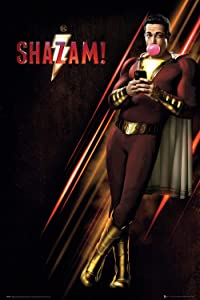 Shazam - Movie Poster (Regular Style) (Size: 24 inches x 36 inches)