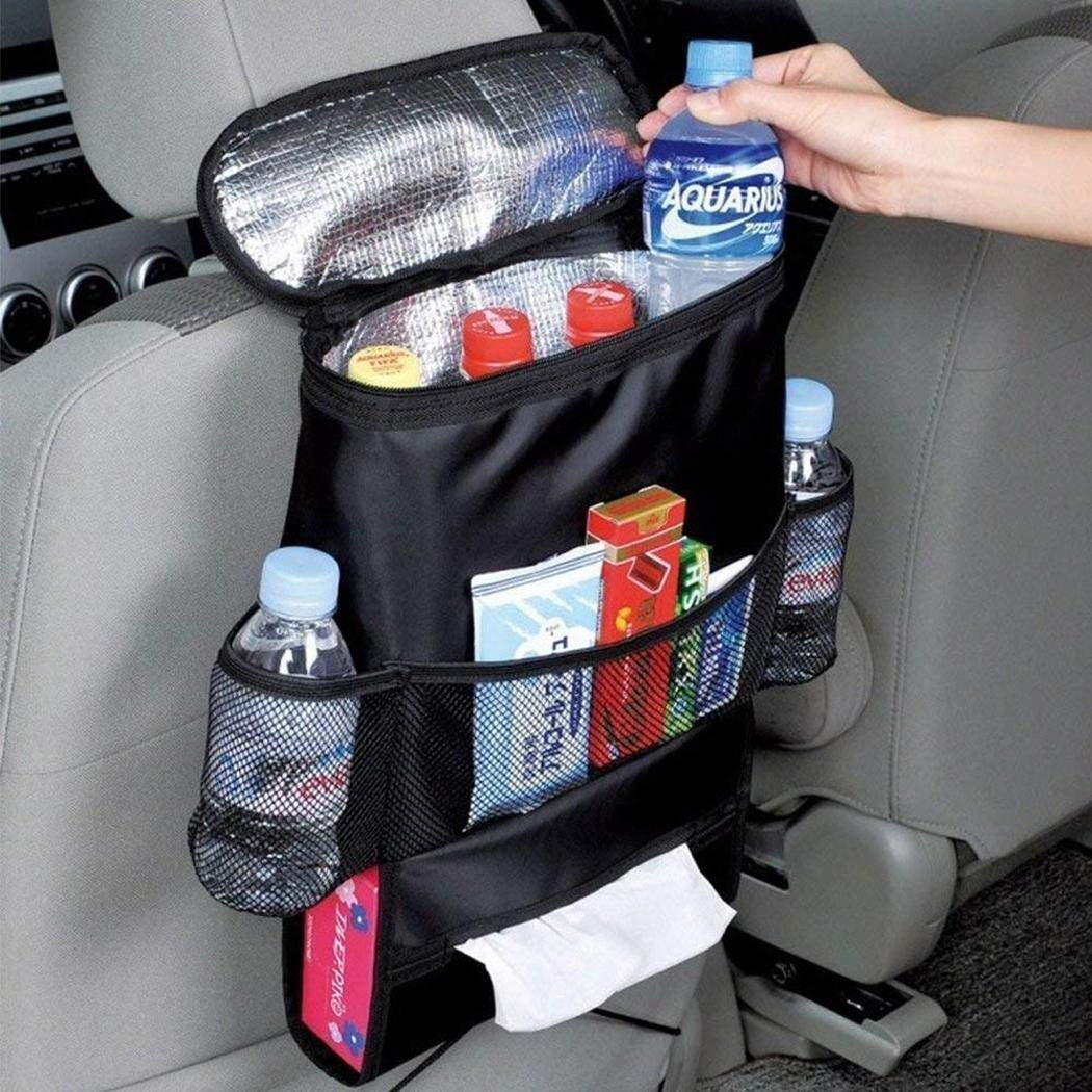 Yuniole Durable Wear-proof Multi-Pocket Insulation Car Seat Back Bag Storage Bag Stowing & Tidying by Yuniole