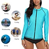 ATTRACO Ladies Rash Guard Shirt Sun Peotect