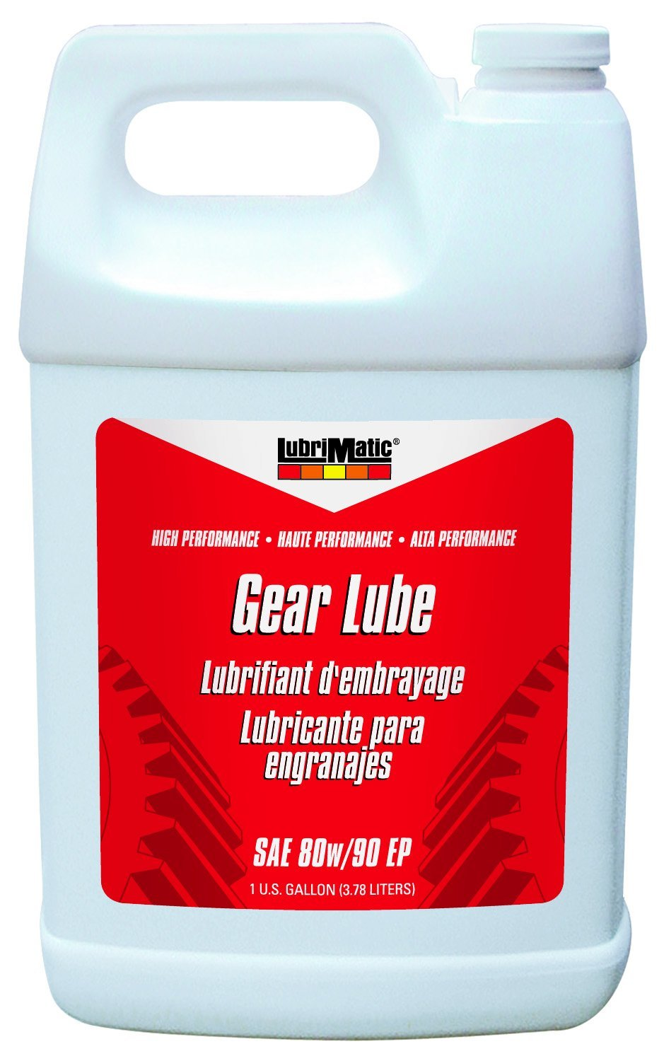 LubriMatic 11507 SAE 80w/90 Extreme Pressure Gear Oil-1 Gallon, 128. Fluid_Ounces LubriMatic Green 579680