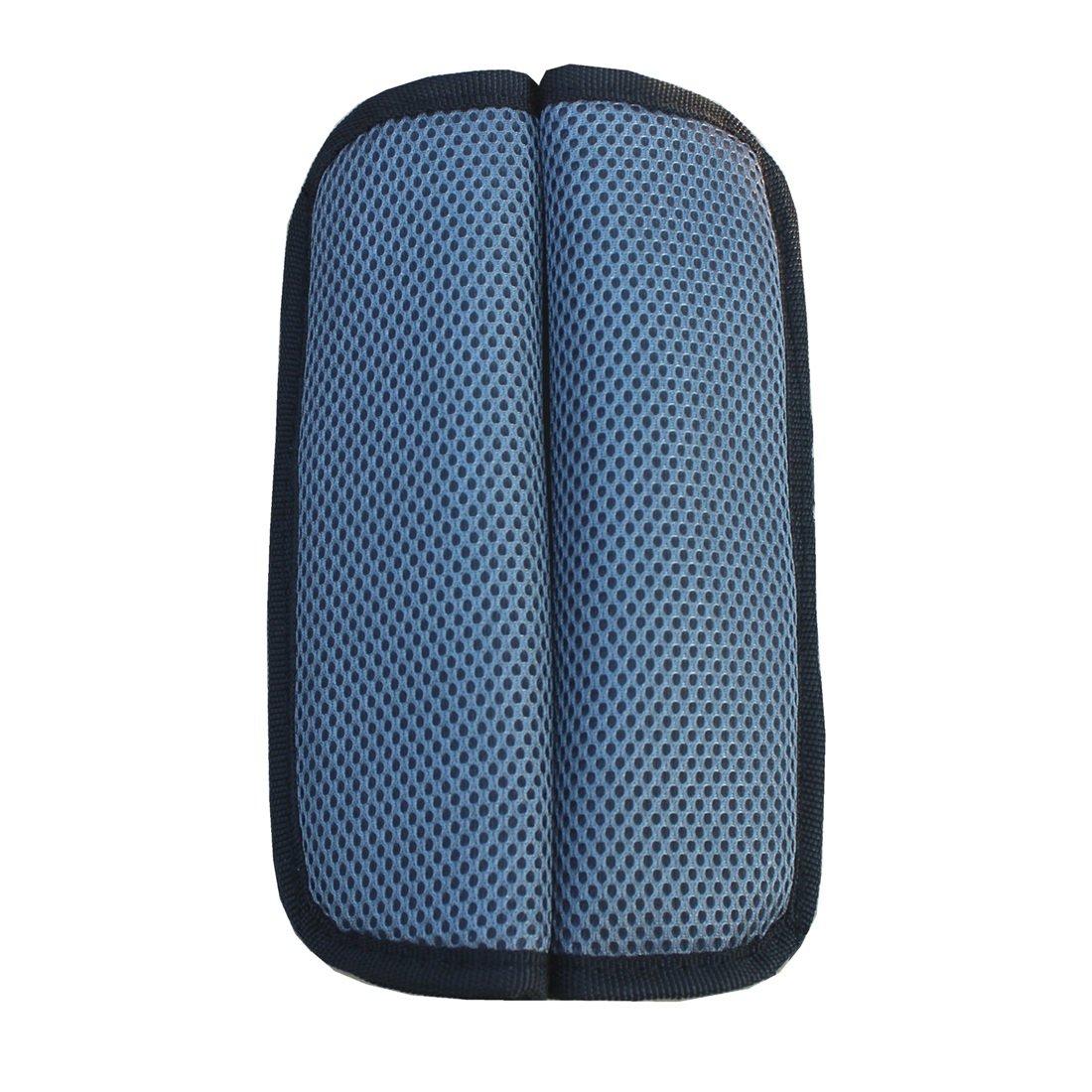 Milong Almohada del Cinturón|Almohadillas para Cinturón| Almohada Cojín de Hombro| Unisex para Proteger Hombro de Bebés Niños para Coche Cochecito Silla de Paseo Azul