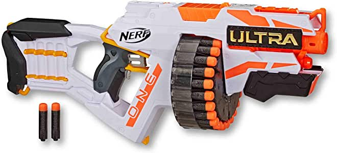 Nerf Ultra One Motorized Blaster - Incl 25 Nerf Ultra Darts - The Farthest Flying Nerf Darts Ever - Kids Toys & Outdoor Games - Ages 8+