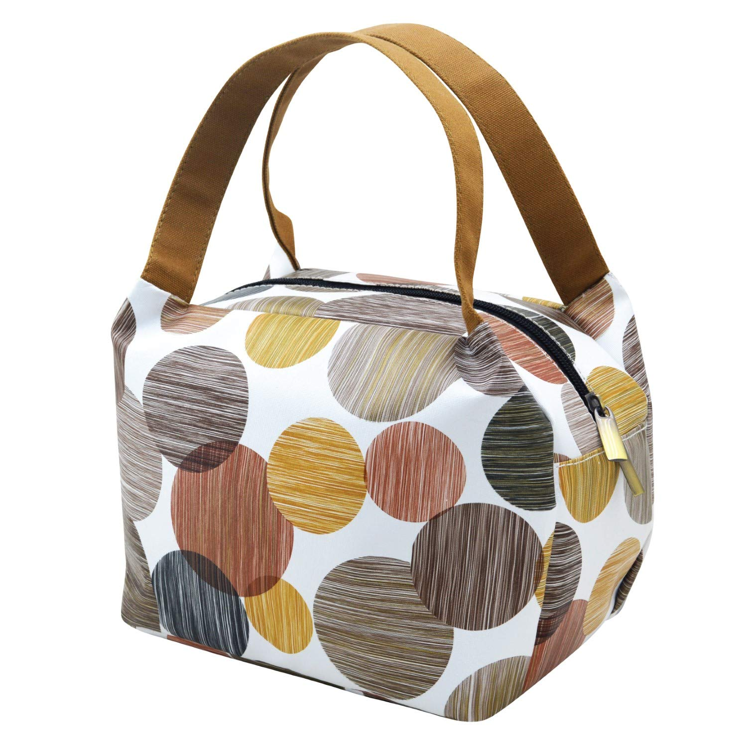 9eae48e70fc3 Fatmug Thermal Insulated Lunch Bag for Office - Cute Small Picnic Handbag  for Women and Girls