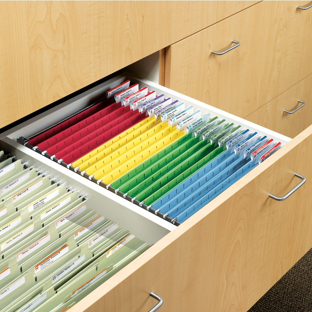 Non Hanging File Cabinet Amazoncom Smead Hanging File Folder Frame Adjustable Letter