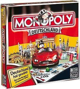 Hasbro Parker 01603100 Monopoly Deutschland - Juego de Mesa [Importado de Alemania]: Amazon.es: Juguetes y juegos