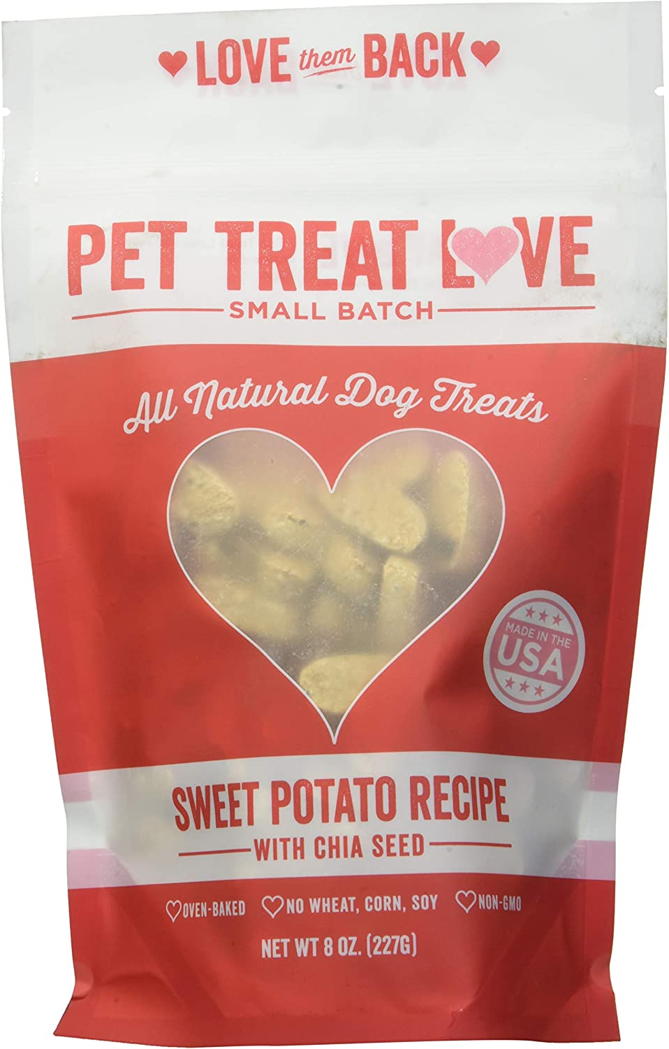 Amazon.com: Pet Treat Love PTL-SP dulce patata arándano para ...
