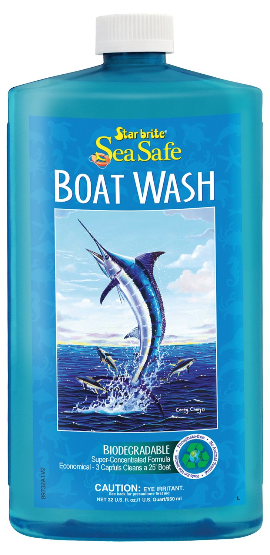 Star Brite Sea Safe Biodegradable Boat Wash Soap, 32 oz by Star Brite (Image #1)