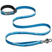 RUFFWEAR - Flat Out Hand-Held or Waist-Worn Dog Leash, Blue Mountains