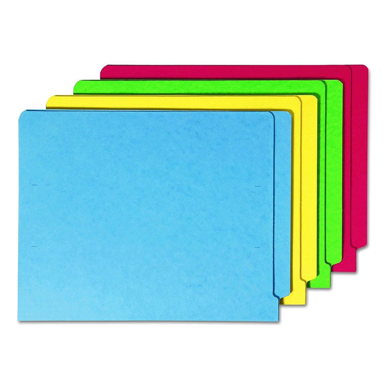 Smead Colored Folders Shelf-Master Reinforced Tab Letter - Assorted De plástico - Carpeta (De plástico, Letter, 311 mm, 241 mm)