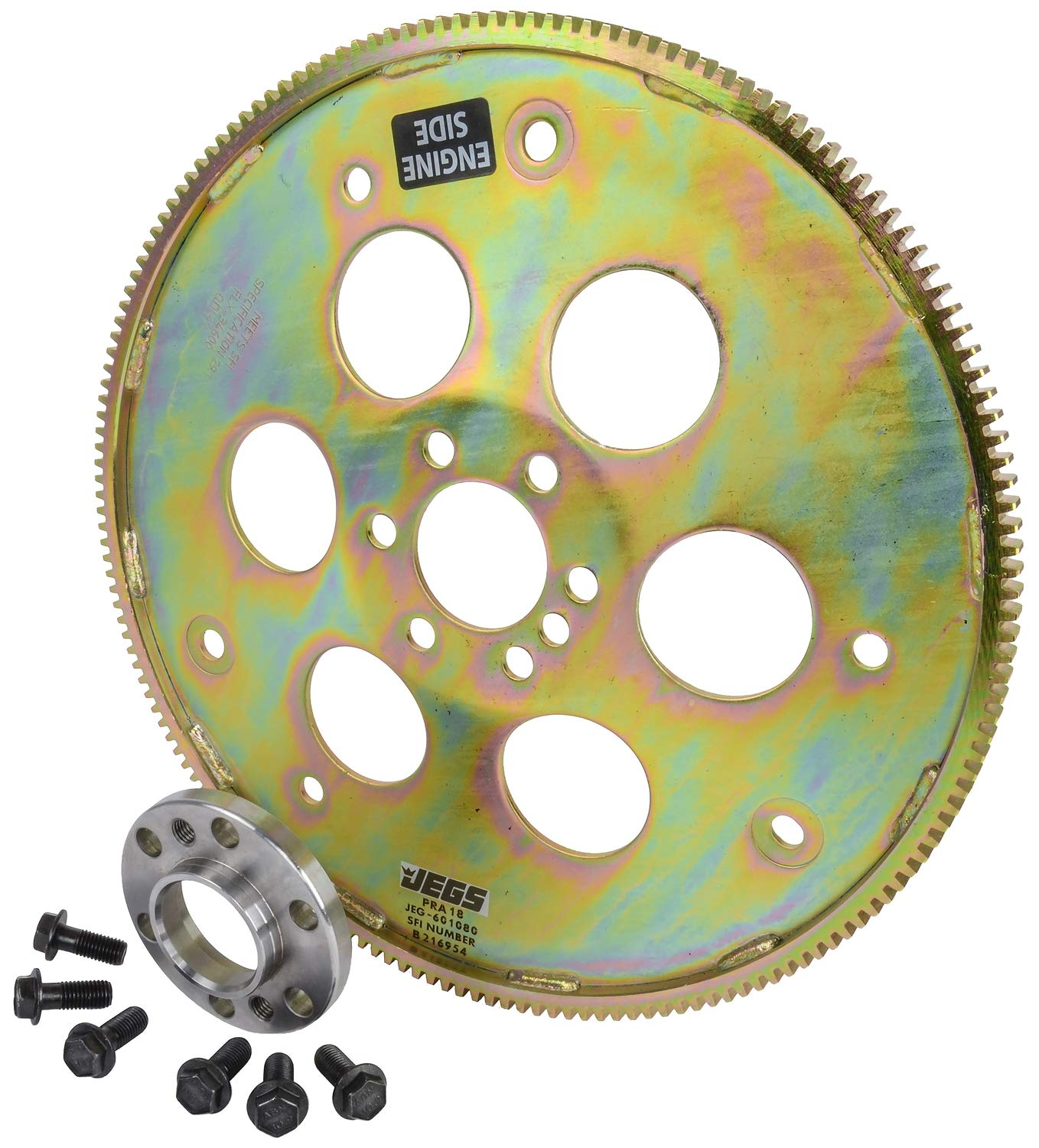 JEGS Performance Products 601080K Heavy-Duty SFI Flexplate Kit GM LS-Series Engi
