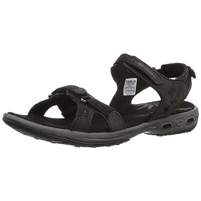 Columbia Women's Kyra Vent Sandal, Black/Shale, 6 B US | Sport Sandals & Slides