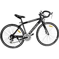 """Ridgeyard 26"""" 54cm Aluminium vélo de Route Course Cycliste Road Bike 21 Vitesse vélo 700C (Noir)"""