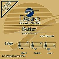 Better AccompanimentPerformance Track Pat Barrett Download MP3 Music File