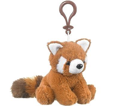 Amazon.com  Wildlife Artists Red Panda Plush Backpack Clip Toy ... 373f31f683