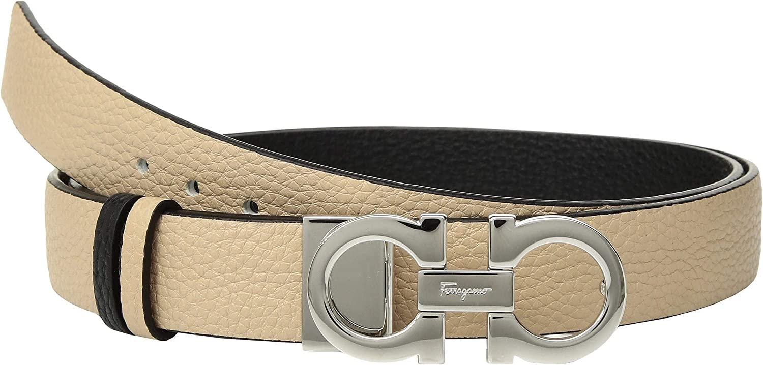 Salvatore Ferragamo Womens 2.5cm Gancini Belt