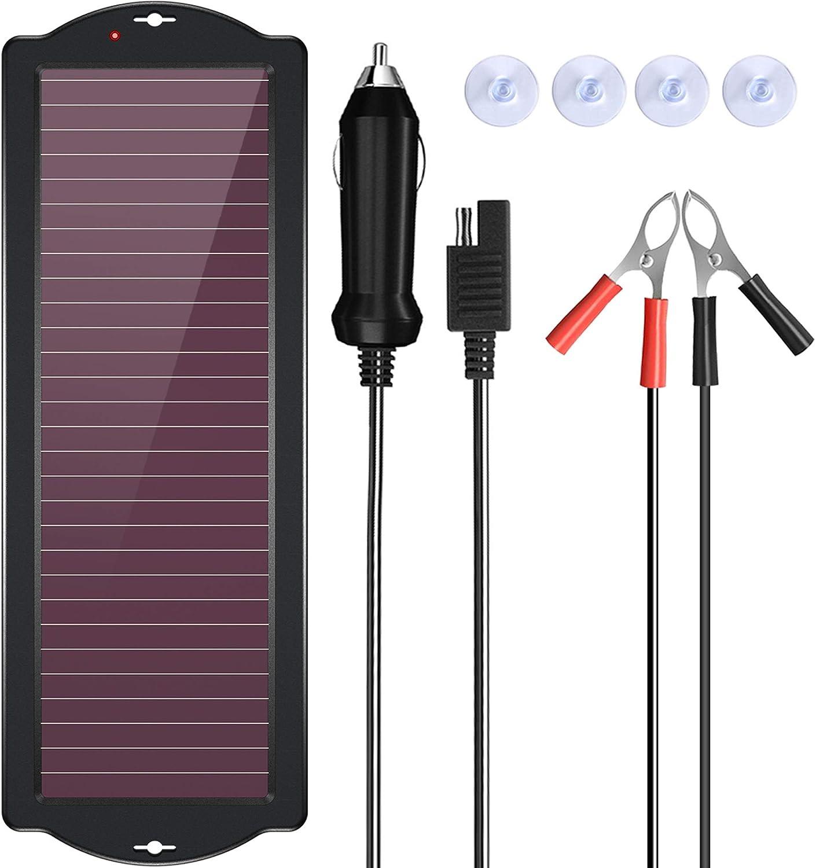 宝西太阳能汽车电池充电器