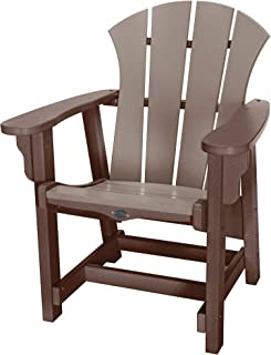 product image for Nags Head Hammocks Sunrise Conversation Chair, Chocolate and Weatherwood