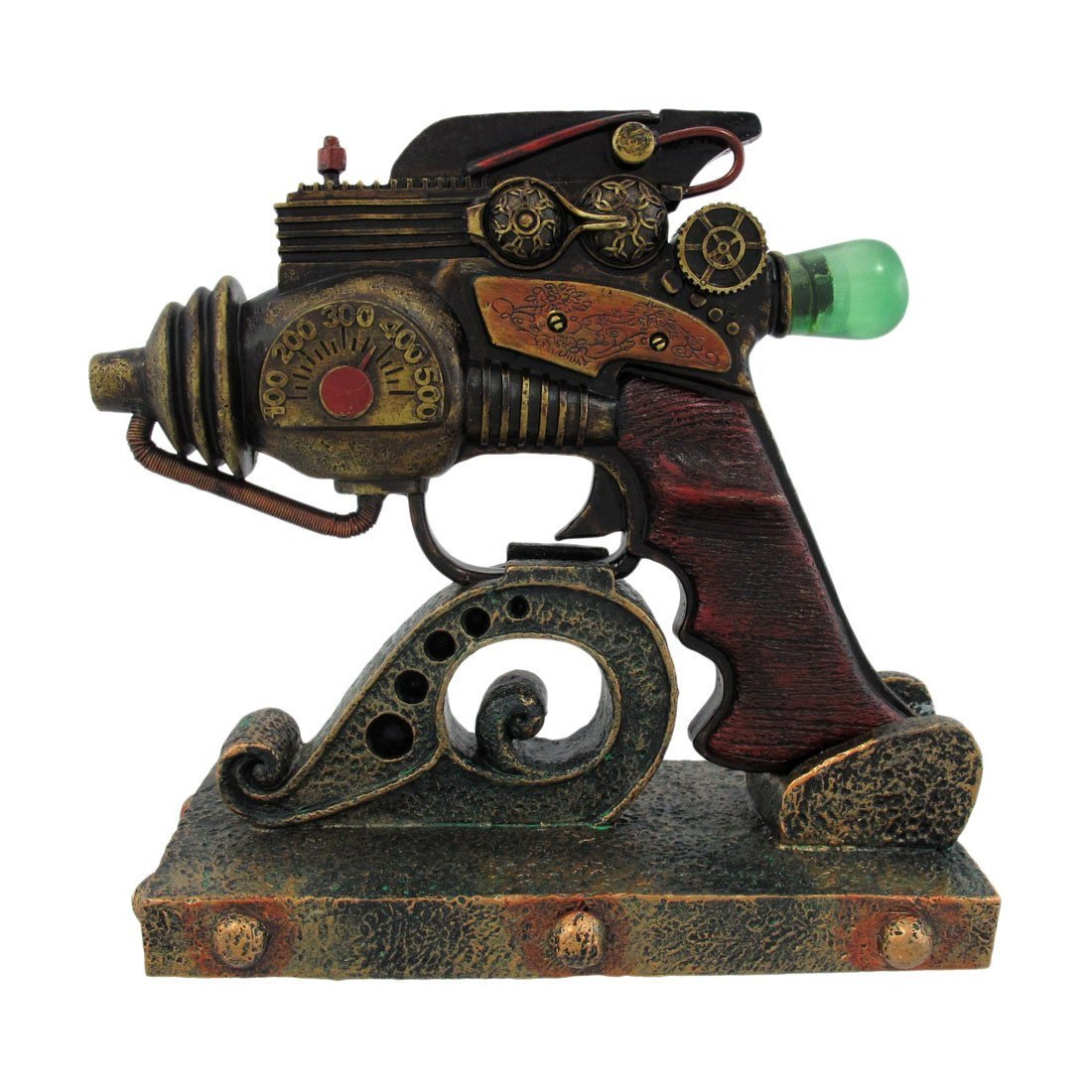 PTC 5.5 Inch The Consolidator Steampunk Inspired Weapon Statue Figurine