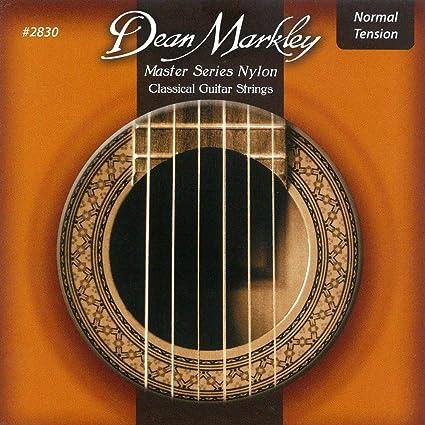 Dean Markley cuerdas para guitarra clásica de nylon, de la serie ...