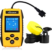 Venterior Portable Fish Finder Ice Kayak Fishing Gear Depth Finder with LCD Display and… photo