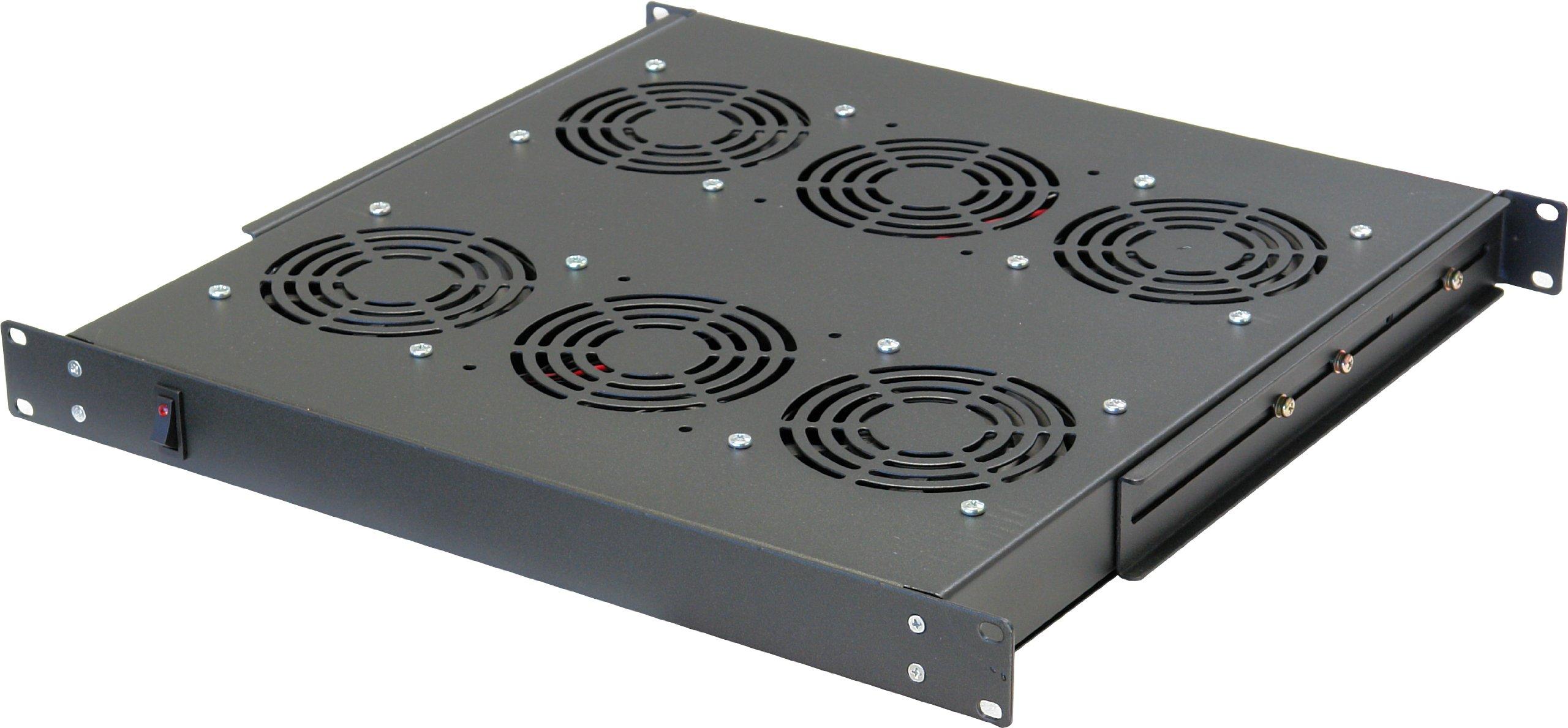 Norco SA-1841 Rack Cabinet Accessory 1U Unit w/4 AC Fans