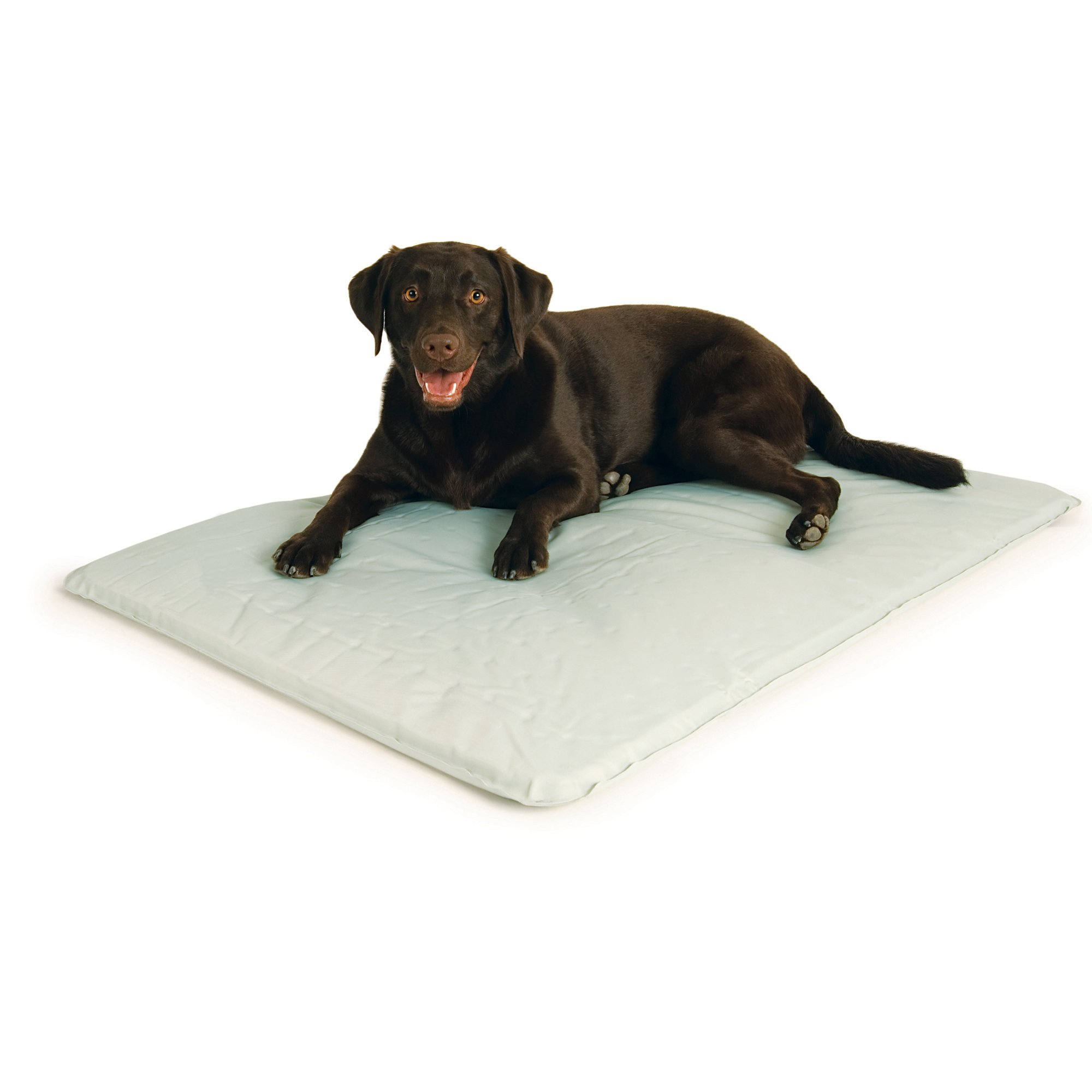 K&H Pet Products Cool Bed III Cooling Dog Bed Large Gray 32'' x 44''